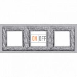 Crystal De Luxe Art Блестящий хром Рамка 3-я Bright Chrome FD01293CB