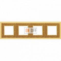 Crystal De Luxe Art Красное золото Рамка 4-я Real Gold FD01294OR