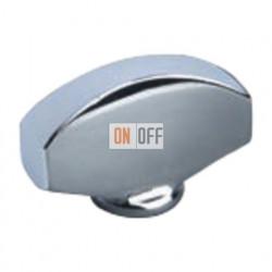 Светлый хром Овал Поворотная ручка Bright Chrome (Cromo Brillo) FD02315CB