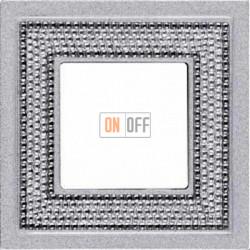 Crystal De Luxe Art Блестящий хром Рамка 1-я Bright Chrome FD01291CB