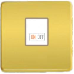 Компьютерная розетка одинарная. FD16-BAST - FD-T5-B - FD04317OR-A