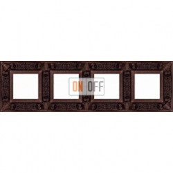 FEDE Granada Медь Рамка 4-я Copper FD01414CO