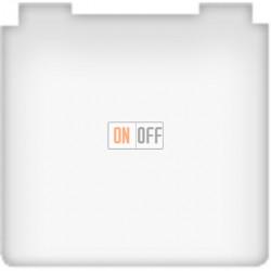 Розетка электрическая с крышкой с заземлением 10А (белый) FD16901 - FD16523 - FD16-BAST