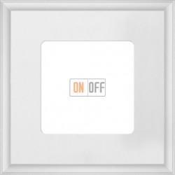 Рамка одинарная Fede Marco, белый металл FD01601WH