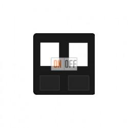 Аудиорозетка двойная (черный) FD17897-M - FD-310ST - FD-310ST - FD16-BAST