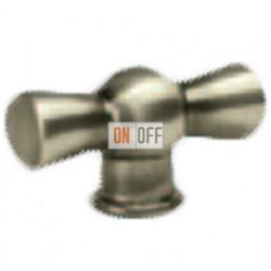 Поворотный выключатель классический, цвет Nickel Satin FD02310NS