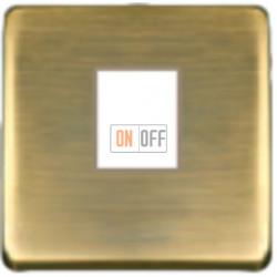 Компьютерная розетка одинарная. FD16-BAST - FD-T5-B - FD04317PM-A