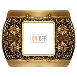 Рамка одинарная Fede Sanremo, бронза светлая FD01421PB