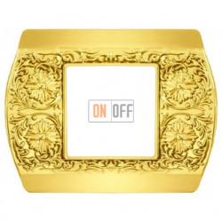 Рамка одинарная Fede Sanremo, светлое золото FD01421OB