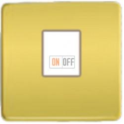 Компьютерная розетка одинарная. FD16-BAST - FD-T5-B - FD04317OB-A