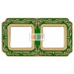 FEDE Firenze Изумрудно-зеленый Рамка 2-я Emerald Green FD01362VEEN