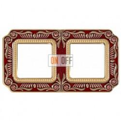 FEDE Firenze Рубиново-красный Рамка 2-я Ruby Red FD01362ROEN