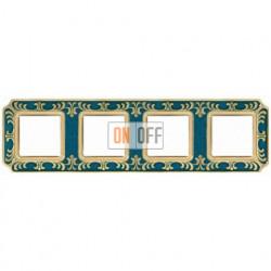 FEDE Siena Голубой сапфир Рамка 4-я Blue Sapphire FD01354AZEN