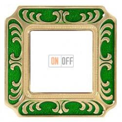 FEDE Siena Изумрудно-зеленый Рамка 1-я Emerald Green FD01351VEEN