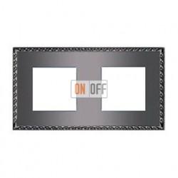 Рамка двойная, для горизонтального/вертикального монтажа FD01212GR