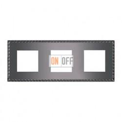 Рамка тройная, для горизонтального/вертикального монтажа FD01213GR