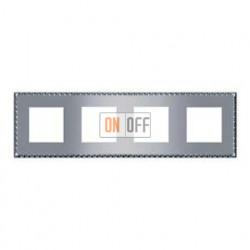 Рамка четверная, для горизонтального/вертикального монтажа FD01214CB