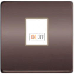 Компьютерная розетка одинарная. FD16-BAST - FD-T5-B - FD04317GR-A