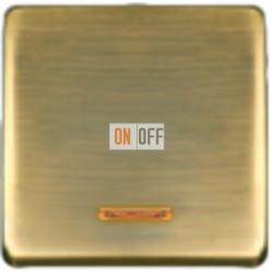 Выключатель одноклавишный с подсветкой 10А 250 V~ FD04312PM - FD21139-1 - FD16505 - FD16-BAST