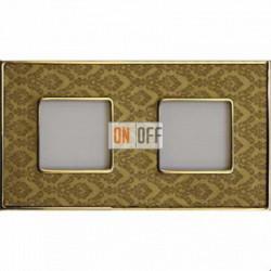 Рамка Vintage Tapestry 2 поста (Decorgold - блестящее золото) FD01322DGOB