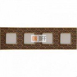 Рамка Vintage Tapestry 4 поста (Decorbrass - блестящее золото) FD01324DBOB