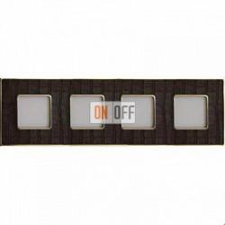 Рамка Vintage Tapestry 4 поста (Alicocobrown - блестящее золото) FD01324AOB