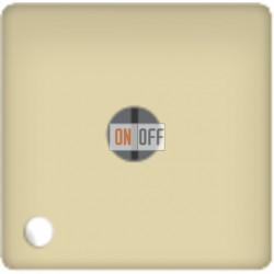 Стандартный поворотный выключатель с лампой подсветки, цвет Бежевый FD03111-A - FD188LED220-1 - FD16-BAST