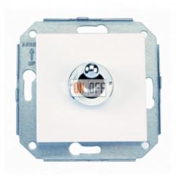 Выключатель тумблерный универсальный, белый/хром 67308262