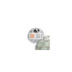 Выключатель-кнопка 10А 250В~, Fontini Garby мрамор 30310152