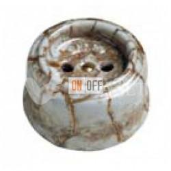 Розетка без заземления со шторками 16А 250В~  Fontini Garby, мрамор 30205152