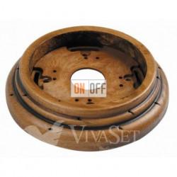 Рамка накладная одноместная, Fontini Garby буковая (старое дерево) 30801212