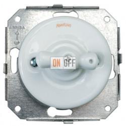 Выключатель для управления жалюзи, белый фарфор 31342172