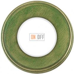 Рамка, одноместная, цвет  зеленый 31801332