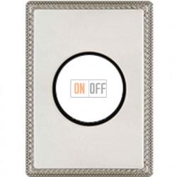 Рамка одноместная с круглым вырезом Venezia Metal, цвет - хром 39801512
