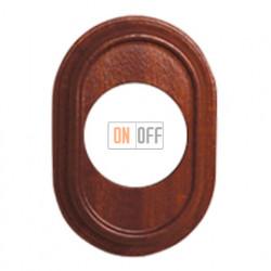Рамка одноместная Venezia Oval, цвет - сапелли 35801162
