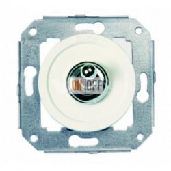 Перекрестный тумблерный выключатель 10А 250В~, белый с хромом 65304262