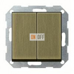 Выключатель двухклавишный, 10 А / 250 В~ 010500 - 0295603