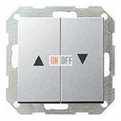 Выключатель управления жалюзи кнопочный, 10 А / 250 В~ 015800 - 029426