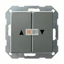 Выключатель управления жалюзи кнопочный, 10 А / 250 В~ 015800 - 029420