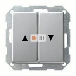 Выключатель управления жалюзи клавишный, 10 А / 250 В~ 015900 - 0294203