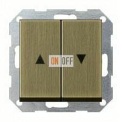 Выключатель управления жалюзи клавишный, 10 А / 250 В~ 015900 - 0294603