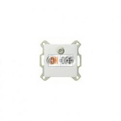 Розетка проходная TV SAT FM, диапазон частот от 4 до 2400 MГц 004200 - 086927