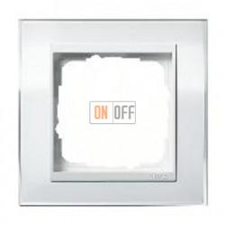 Рамка одинарная Gira Event Clear белый глянец-белый 0211723