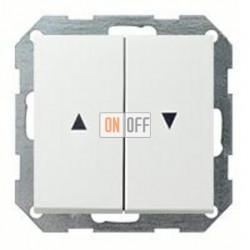 Выключатель управления жалюзи кнопочный, 10 А / 250 В~ 015800 - 0294112