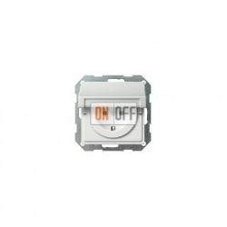 Розетка с заземляющими контактами 16 А / 250 В~, с откидной крышкой 0454112