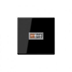 Выключатель одноклавишный, универс. (вкл/выкл с 2-х мест) c подсветкой 10 А / 250 В~ 506u - 90 - A590KO5SW