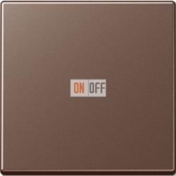 Выключатель одноклавишный перекрестный (вкл/выкл с 3-х мест) 10 А / 250 В~ Мокко 507u - A590MO