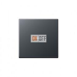 Выключатель одноклавишный с подсветкой 10 А / 250 В~ 501u - 90 - A590BFKO5ANM