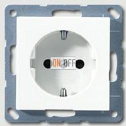 Розетка с заземляющими контактами 16 А / 250 В~ A1520WW