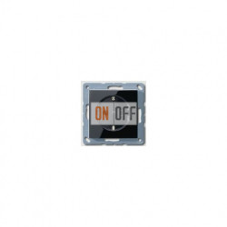 Розетка с заземляющими контактами 16 А / 250 В~ с защитой от детей A1520KISW